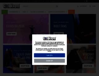 gotvape.com screenshot