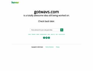 gotwavs.com screenshot