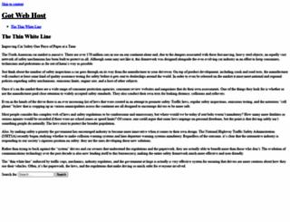 gotwebhost.com screenshot