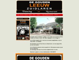 goudenleeuwzuidlaren.nl screenshot