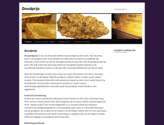 goudprijs.org screenshot
