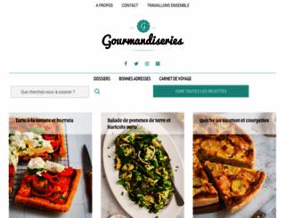 gourmandiseries.fr screenshot