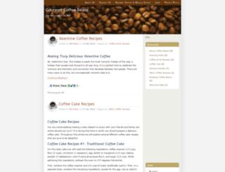 gourmet-coffeebeans.com screenshot