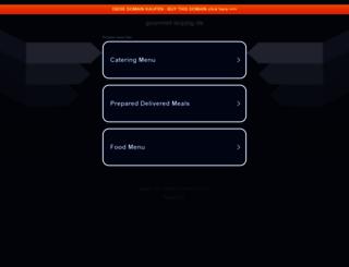 gourmet-leipzig.de screenshot