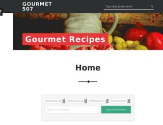 gourmet507.com screenshot