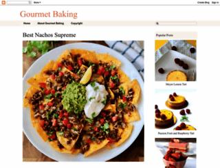 gourmetbaking.blogspot.com screenshot