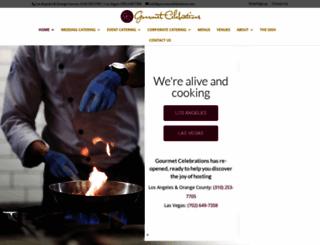 gourmetcelebrations.com screenshot