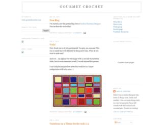 gourmetcrochet.blogspot.co.nz screenshot