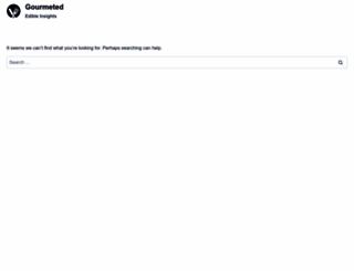 gourmeted.com screenshot