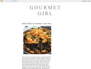 gourmetgirl1.blogspot.com screenshot