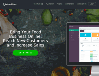 gourmetli.com screenshot