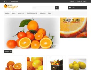 gourmetoranges.com screenshot