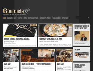 gourmetsandco.com screenshot