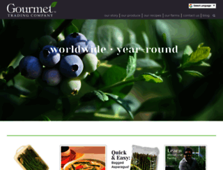 gourmettrading.net screenshot