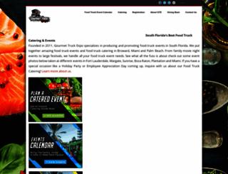 gourmettruckexpo.com screenshot