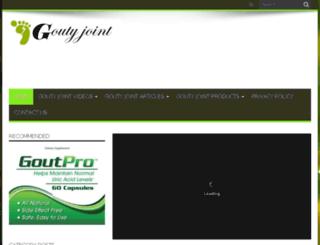 goutyjoint.com screenshot