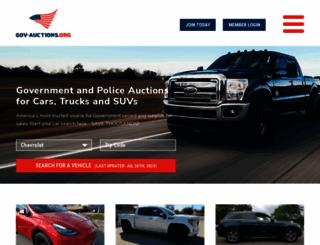 gov-auctions.org screenshot