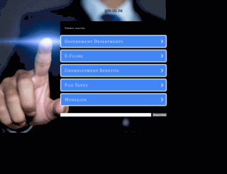gov.co.za screenshot