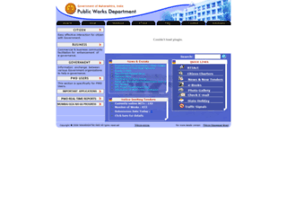 gov.mahapwd.com screenshot