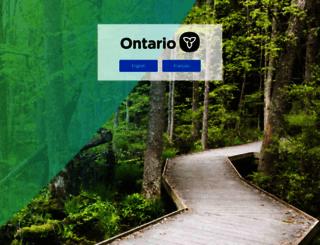 gov.on.ca screenshot
