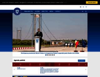 gov.ro screenshot
