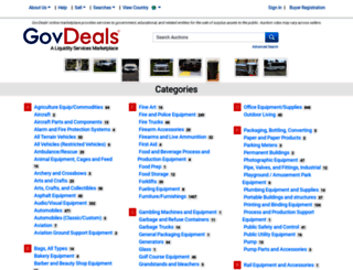 govdeals.com screenshot