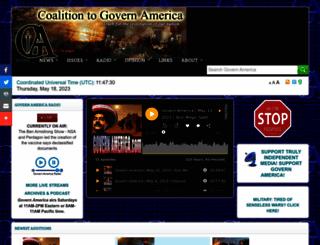 governamerica.com screenshot