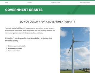 government-grants.co.uk screenshot