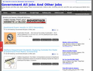 governmentalljobssarch.blogspot.in screenshot