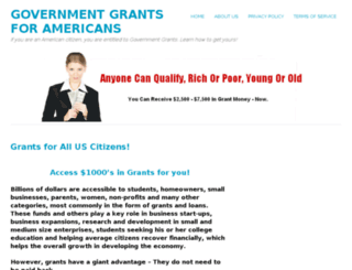 governmentgrant-usa.com screenshot