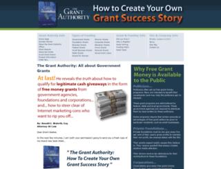 governmentgrantauthority.com screenshot