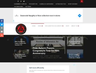 governmentsecrets.com screenshot