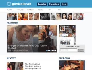 goviralbrah.com screenshot