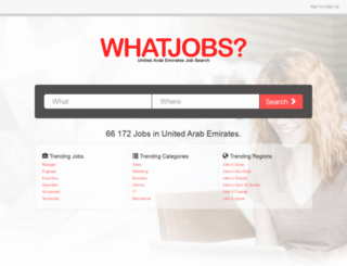 govjobs.ae screenshot
