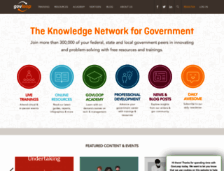 govloop.com screenshot