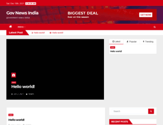 govnews.in screenshot