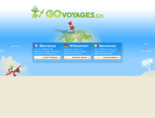 govoyages.ch screenshot