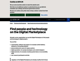 govstore.service.gov.uk screenshot