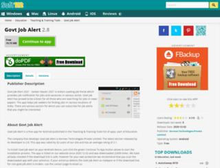 govt-job-alert.soft112.com screenshot