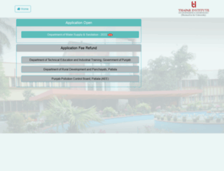 govt.thapar.edu screenshot