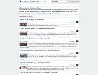 govthub.com screenshot