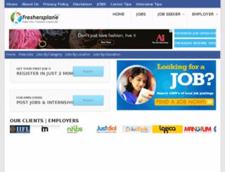govtjobs.freshersplane.com screenshot