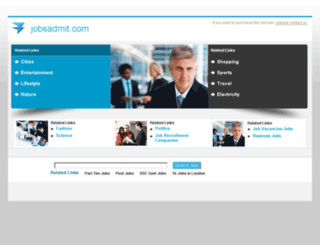 govtjobs.jobsadmit.com screenshot