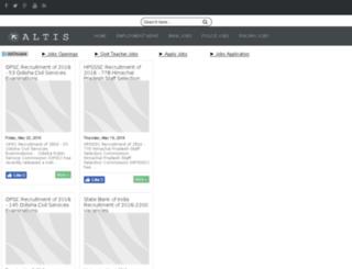 govtjobsblog.net.in screenshot