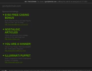 govtjobshub.com screenshot
