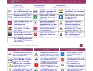 govtjobshunt.com screenshot