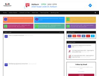 govtjobsinformation.com screenshot