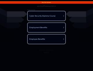 govtstaffnewsportal.in screenshot