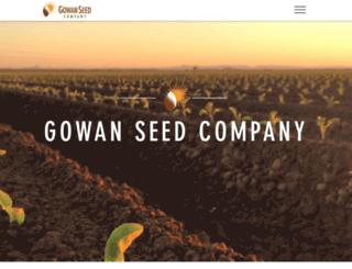 gowanseed.com screenshot