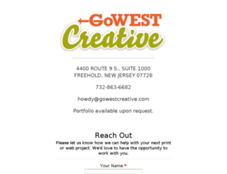 gowestcreative.com screenshot